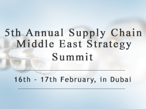 5th Annual Supply Chain Middle East Strategy Summit logo