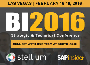 BI 2016 Strategic & Technical Conference in Las Vegas, Nevada